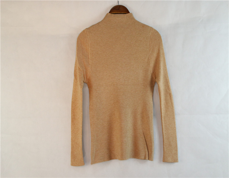 Cheap Wholesale Tight-fitting Turtleneck Sweaters
