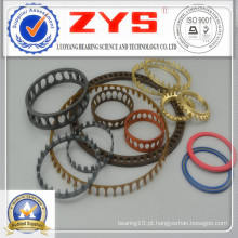 Gaiola de rolamento de plástico, rolamentos Gaiola de poliamida, aço galvanizado, aço de latão e outra gaiola