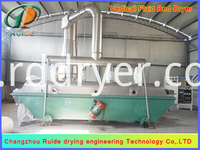 Soup Stock Vibrating Fluid Bed Drying Machine