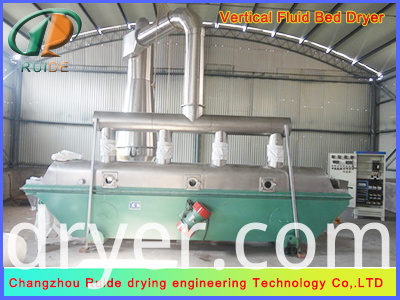 Vibration drying machine of borax