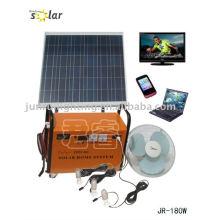 Système d'énergie solaire de CE pour la famille using(JR-GD180W)