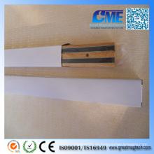 Kaufen Sie doppelseitige Wandmontierte Holz Magnetische Messerhalter