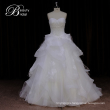 Dorisquees Alibaba Online Hot Sale Organza Wedding Dress From China