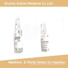 1ml 2ml5ml10ml 20mlwater Médecine pour injection et eau stérile pour injection