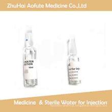 1ml 2ml5ml10ml 20mlwater Medicina para a injeção & água esterilizada para a injeção
