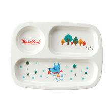 100% Melamine Dinnerware-Kid′s Series Children Divided Plate (MRH18002)