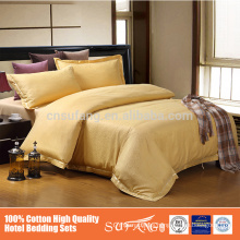 China supplier cushions and bed runners 100%cotton hotel set