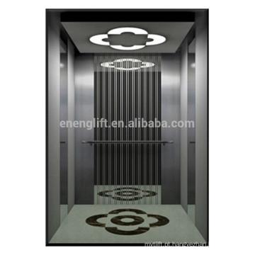 Fábrica de porcelana china confortável comercial vvvf passageiro elevador