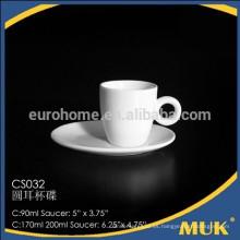 2015 nueva compra caliente de la venta caliente de la taza y del platillo finos de lujo de China de la porcelana de café