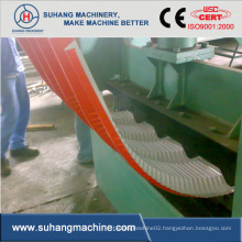 Quality Hydraulic Power Colour Sheet Roll Formed Roof Panel Curving Machine