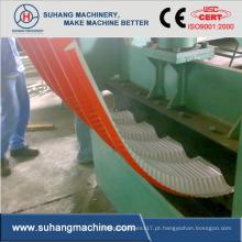Máquina curvadora de painel de telhado em forma de rolo de folha colorida de energia hidráulica