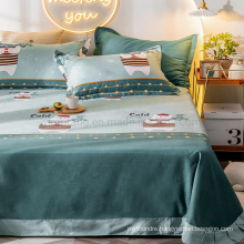 Home Product Bedsheet Best Quality Hypoallergenic Fade for Double Bed