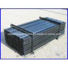 Piquet d'étoiles standard noir et galvanisé d'Australie pour la clôture agricole