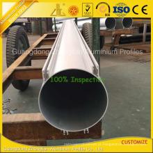 Perfil de alumínio do tubo da grande forma redonda de 200 mm Od Califoia