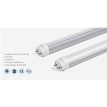Lumière de tube LED en aluminium dimmable 6000K 3ft