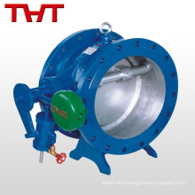 ozone resiatant non return valve / tilting disc check valve with damper / weight