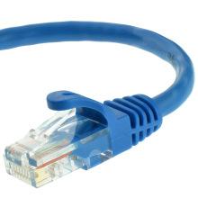 Cabo de remendo de Ethernet Cat5e cabo de interconexão de rede de computador 25ft RJ45