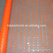 orange construction plastic safety fencing