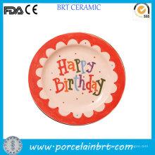 Custom Design Birthday Gift Kids Plate