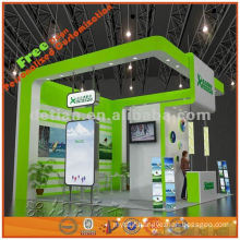 2013 new design custom exhition stall fashion exhibit booth design for expo