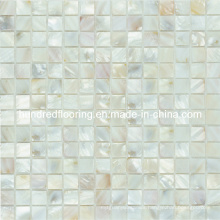 White Shell Mosaic Mother of Pearl Tile (HMP67)