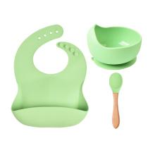 Silicon Baby Feeding Bowl Bpa Free 100% Silicone Suction Bowl Baby Silicone Bowl Set Baby