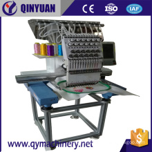 QYCT Single Head Automatic Embroidery Machine, High Speed Embroidery Machine