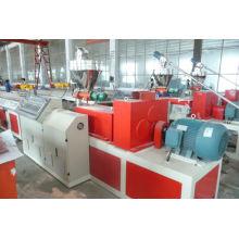2014 haute qualité wpc en plastique composé machine