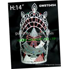 Grande tiare en gros et couronne