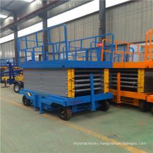 4~18m Movable Lift Platform Mobile Scissor Lift
