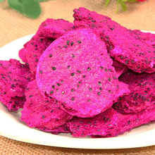 freeze dried red dragon fruit dehydrated slices