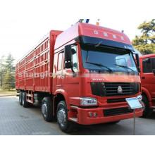 Sinotruk HOWO 8X4 Fence Cargo Truck