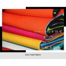 Mini tissu mat pour les vêtements ouvriers vendez au marché des États-Unis