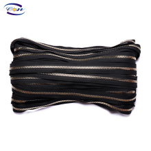 Special Hot Selling customized polyester+plastic teeth long chain zipper