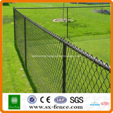powder spraying chain link fence(made in China)