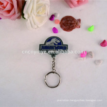 Hot sell advertising pvc LED pvc keyring