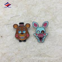 Custom metal cartoon colorful interesting badge pin for kids