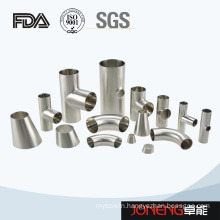 Stainless Steel Hygienic Welded Tee Pipe Fitting (JN-FT3006)