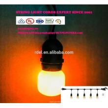 SL-102 10FT 10 lumière Claire E17 base PS50 Edison Style Noël Lumière
