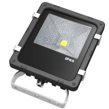 Projector exterior do diodo emissor de luz 10W da microplaqueta de Bridgelux garantia de 5 anos
