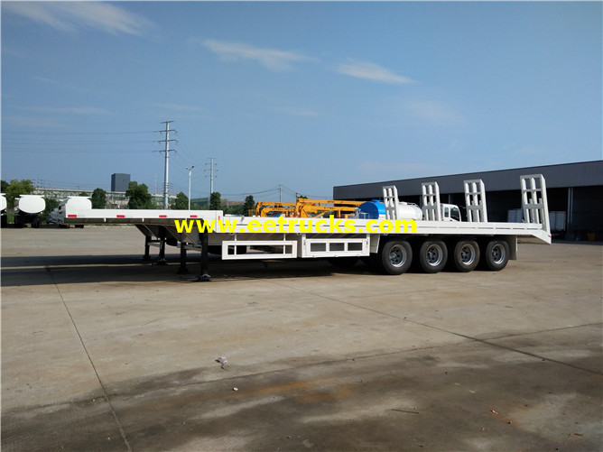 Flatbed Cargo Transport Trailers