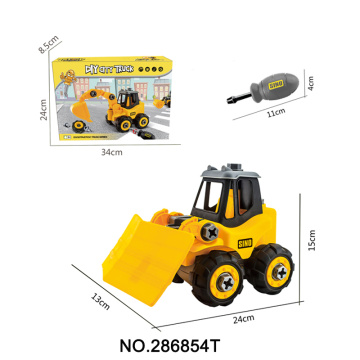 Construction Engineering Building Toys DIY Truck