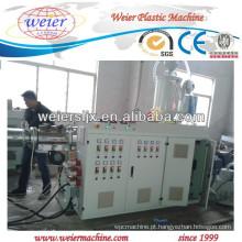 extrusora de único parafuso de alta eficiência para tubulação do HDPE