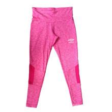 Pantalones del deporte de la tela del catión del poliéster para correr, ciclismo, desgaste de la yoga de las mujeres