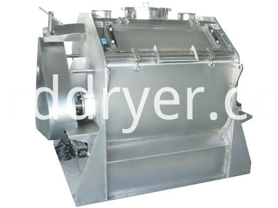 Factory Price High Quality Single Shaft Mixer