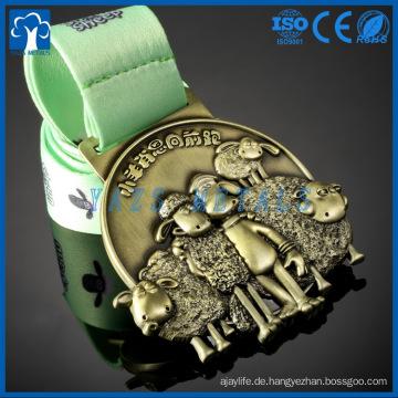 Medaillen Fabrik Großhandel gute Qualität Druckguss benutzerdefinierte Metall-Medaille