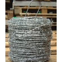 Производство колючей проволоки с гальваническим или ПВХ покрытием