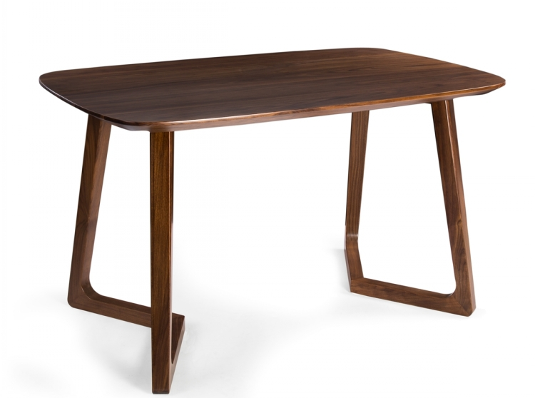 Classic Design Solid Walnut Wood Restaurant Dining Tables
