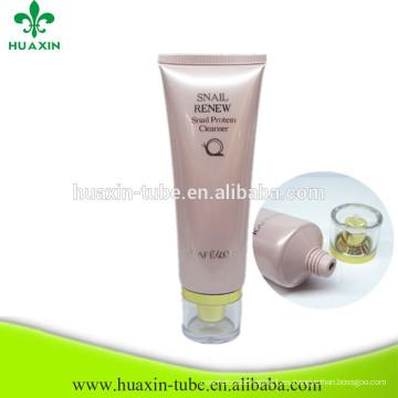 Tubo cosmético del limpiador facial del proveedor 120ml de China