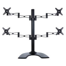 (TV13-402T) Desktop Monitor Stand for up to 4 Monitors (27″)